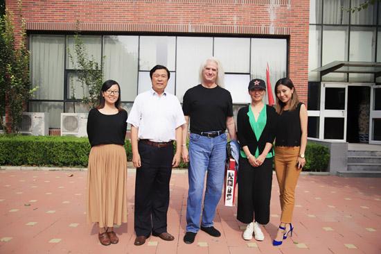 洛杉矶谢伯德大学康奈尔现代音乐学院来访北京现代音乐研修学院