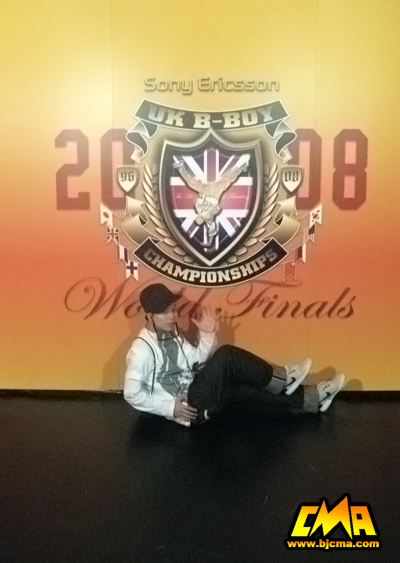 Huang Jingxing won the second place at the UK B Boy Championships World Final