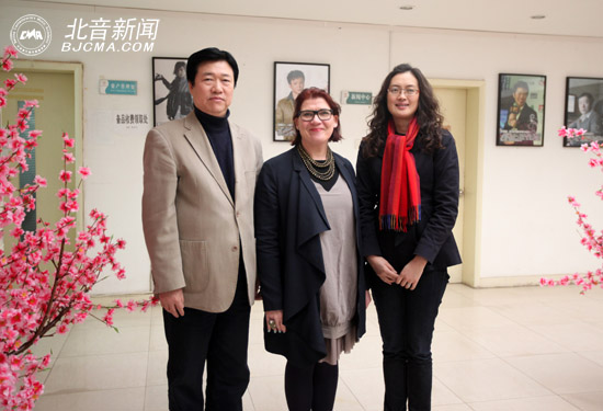 Bournemouth University discusses education cooperation with Beijing Contemporary Music Academy (CMA)