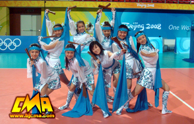 Students of CMA offering wonderful performances at Olympic venues