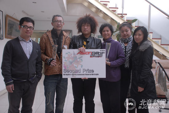 Pop-rock band – Velvet Road won the second place at Yamaha Asian Beat Band Competition Grand Final 2010