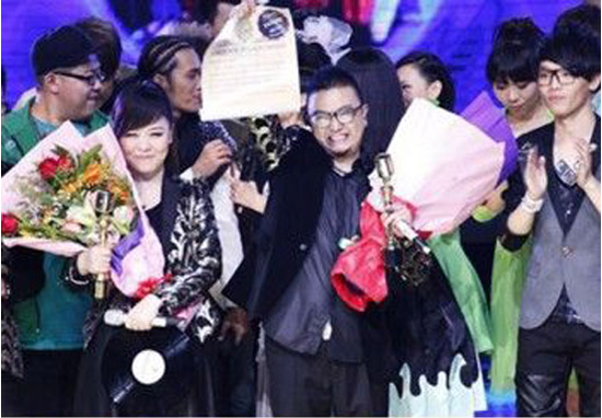 CMA's acappella band freeman became the winner at Shenzhen Satellite TV's hit show