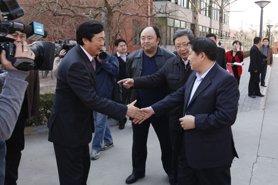 The Vice-mayor of Beijing visited CMA