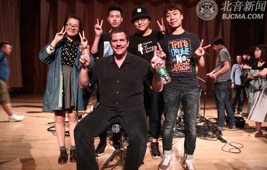 国际格莱美奖白金唱片鼓手Russ Miller再访北音大师讲堂做客