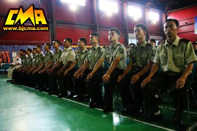 我院隆重举行新生入学教育暨军训动员大会