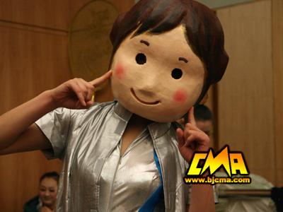我是可爱的大头娃娃