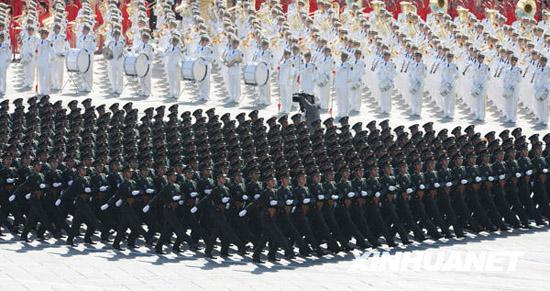 陆军学员方队