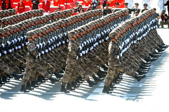 特种兵方队