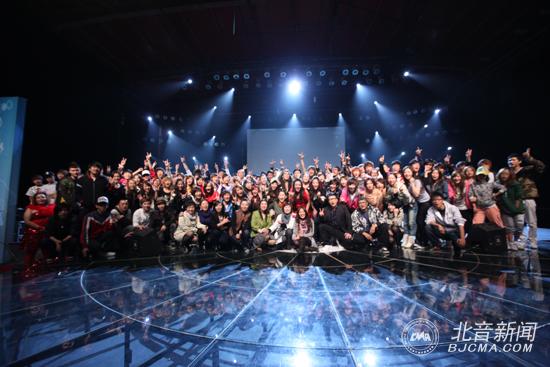 北京现代音乐学院欧美系魔鬼训练营第二季大合影