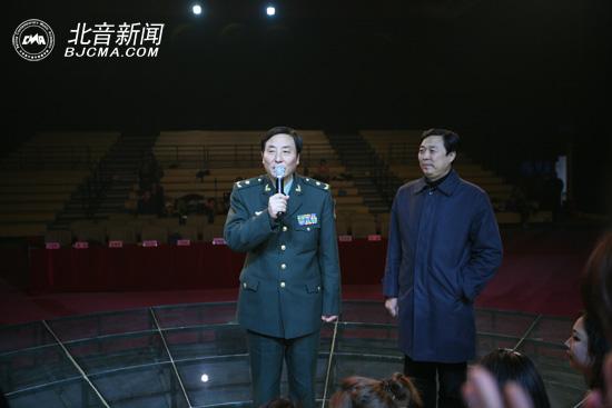 中国音乐剧协会会长王祖皆讲话