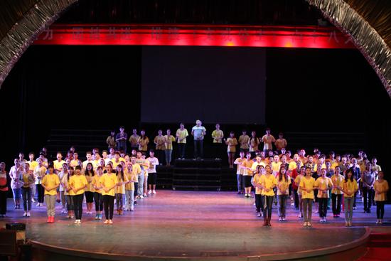 北音西藏合作大型音乐剧《文成公主》顺利排演中