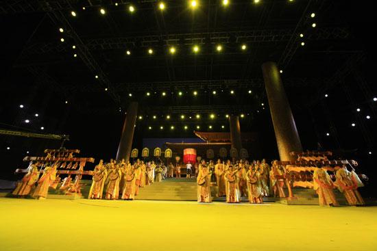 《文成公主》北京现代音乐学院正式彩排