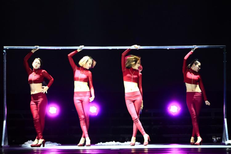 歌舞专场呈现国际舞台