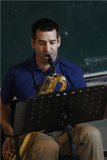 美国 半球萨克斯四重奏 做客北京现代音乐研修学院大师讲堂