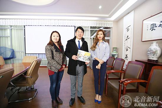 美国福赛大学来访北京现代音乐研修学院寻求合作