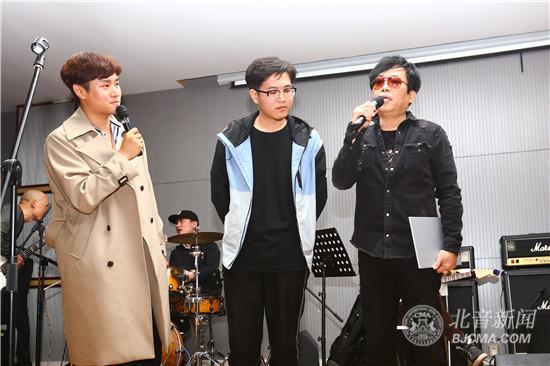 台湾著名音乐制作人凃惠源做客北京现代音乐研修学院大师讲堂