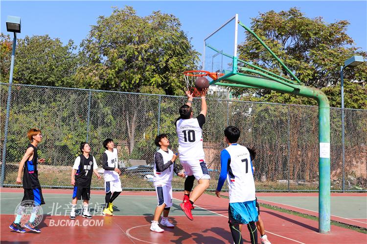 """北音附中""""北音之篮""""第六届秋季校园篮球赛"""