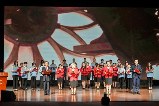 读经典 学新知 链接美好生活——北京现代音乐研修学院播音系参加2019年度首都市民阅读系列文化活动启动仪式