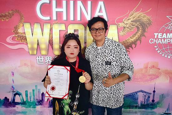 北京现代音乐研修学院毕业生裴佩荣获2020WCOPA世界表演艺术锦标赛声乐组金奖